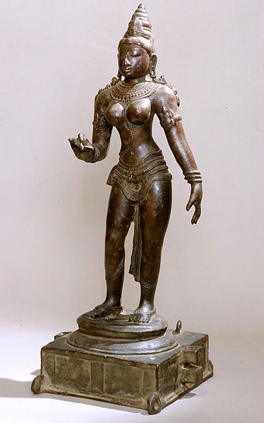 A bronze statue from Chola Dynasty