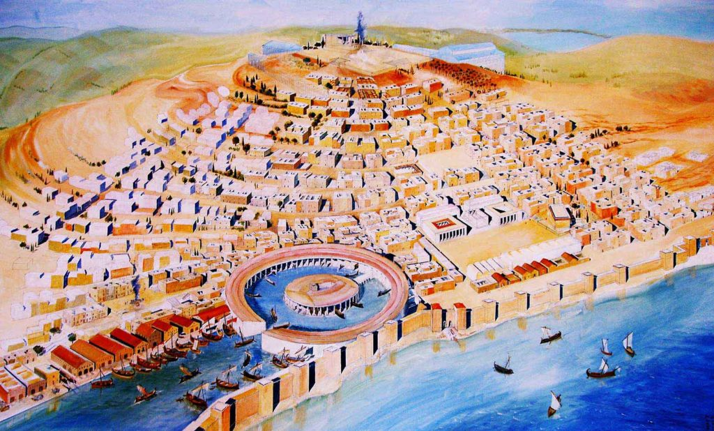 Representation-of-Carthage-city