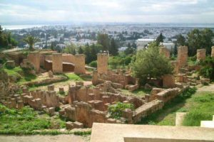 ruins of Carthage City