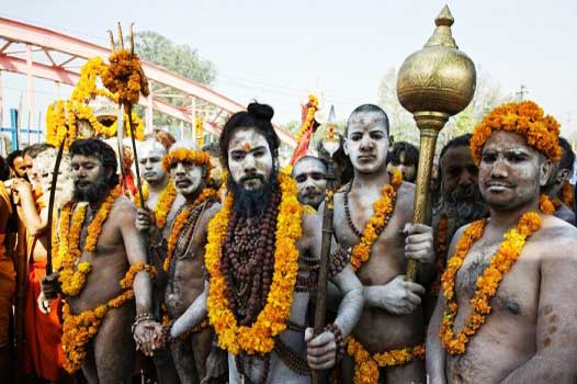 religious gathering during the Kumbh festival