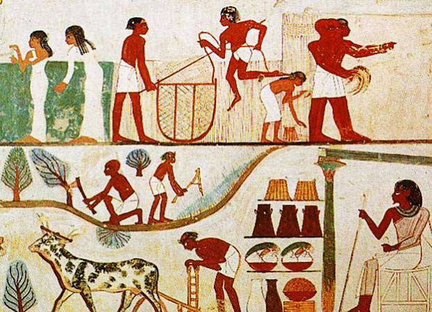 23 amazing facts about ancient egypt for Ancient egyptian cuisine