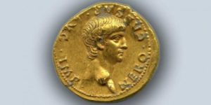 First Ever Ancient Gold Coin to Be Found in Jerusalem Bears Image of Emperor Nero