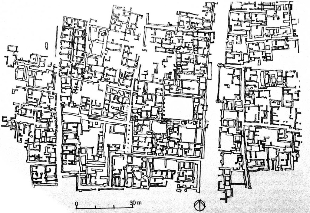 urban fabric of Mohenjo-Daro